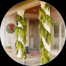 Western Cedar Gift Garlands